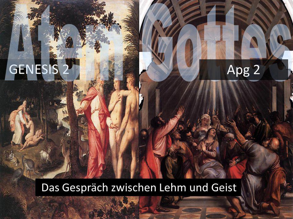 in car nate Christ incarnate Christ in community Christ in culture GENESIS 2 Das Gespräch zwischen Lehm und Geist Apg 2