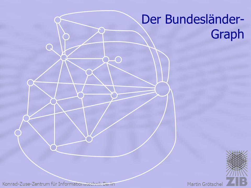Konrad-Zuse-Zentrum für Informationstechnik Berlin Martin Grötschel Der Bundesländer- Graph