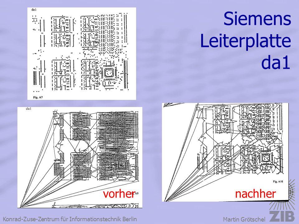 Konrad-Zuse-Zentrum für Informationstechnik Berlin Martin Grötschel Siemens Leiterplatte da1 vorhernachher