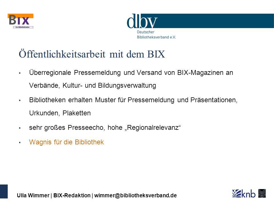 Wie entsteht der BIX.