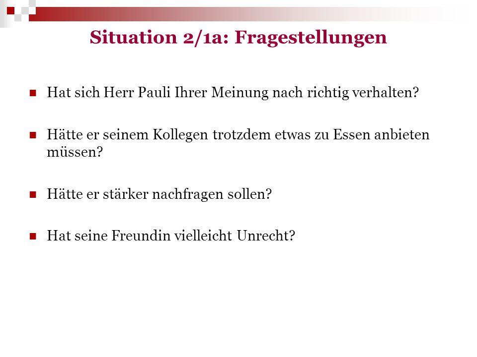 Situation 1/2: Analyse Essen und Trinken haben in Polen eine größere Bedeutung als in Deutschland.