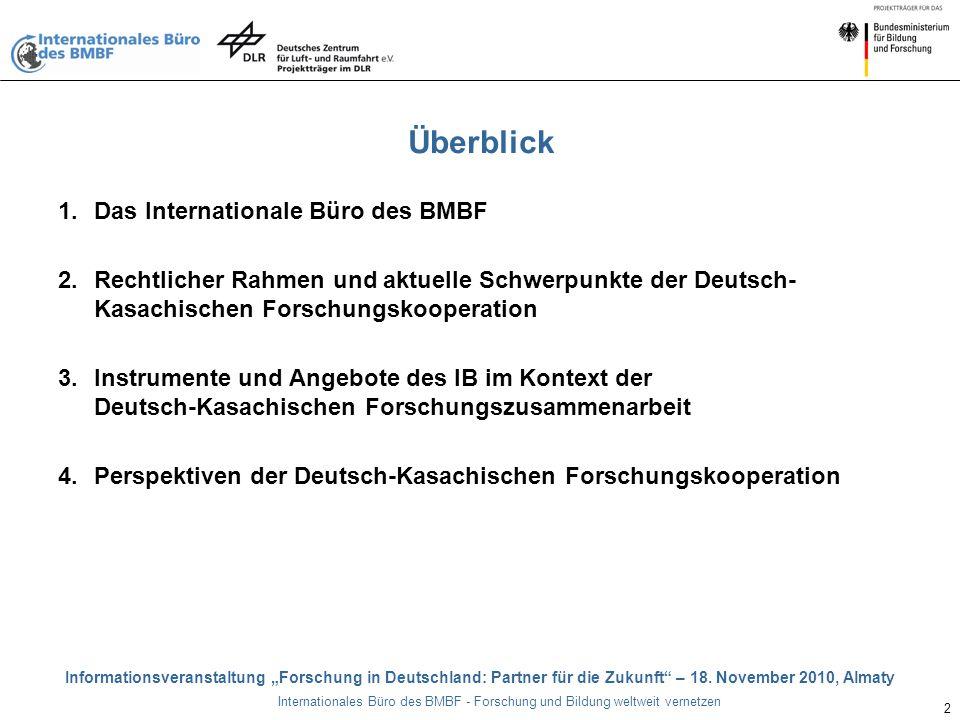 """Informationsveranstaltung """"Forschung in Deutschland: Partner für die Zukunft – 18."""