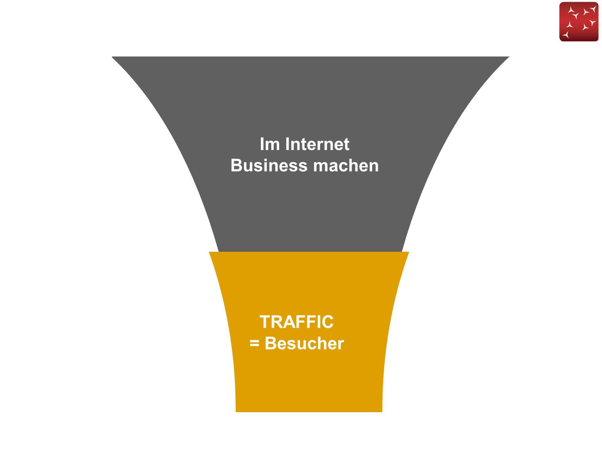 TRAFFIC = Besucher Im Internet Business machen