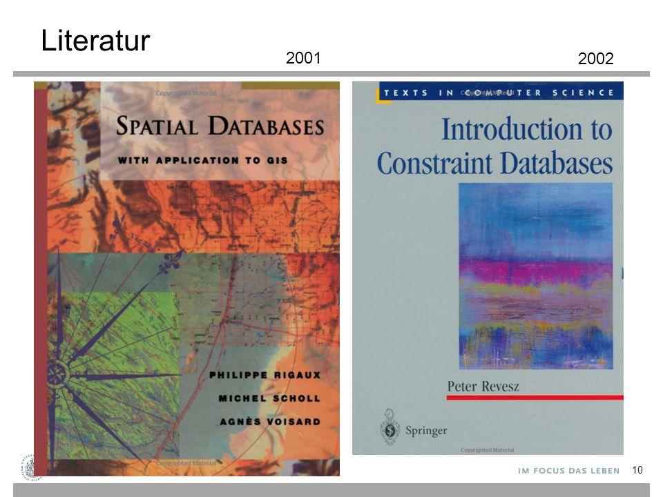 Literatur 10 2001 2002