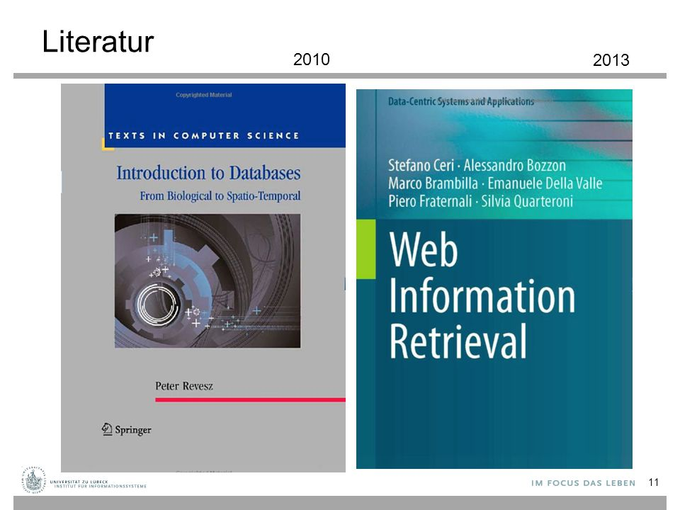 Literatur 11 2010 2013
