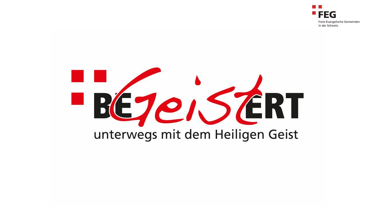 Ziele FEG Schweiz 2015-2016: BeGEISTert – Unterwegs mit dem Heiligen Geist 1.Wir möchten als FEG Schweiz nicht hinter den Erlebnissen der Bibel zurückstehen und Er- wartungen an den Heiligen Geist wecken (siehe Hesekiel 47: Zunehmendes Eintauchen in die Fülle/Gnade Gottes).