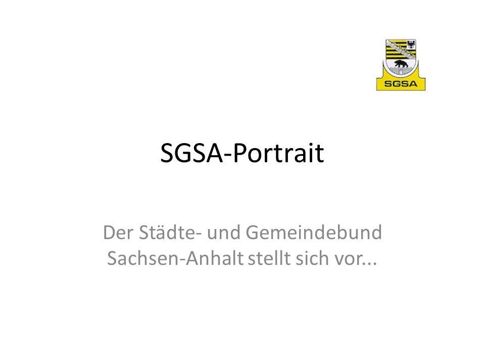 SGSA-Portrait Der Städte- und Gemeindebund Sachsen-Anhalt stellt sich vor...
