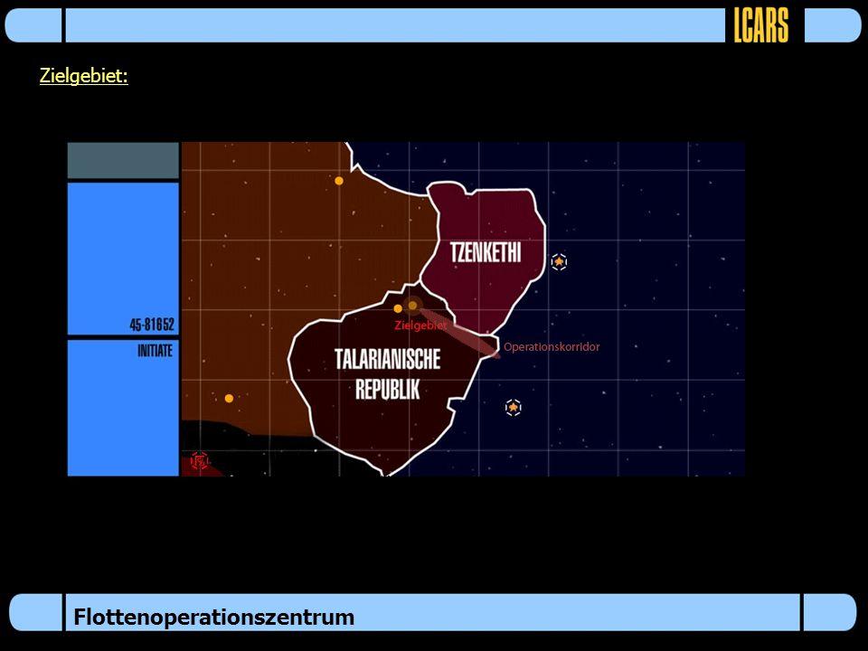 Flottenoperationszentrum Zielgebiet: