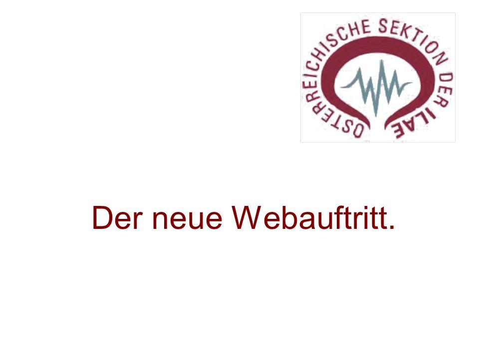 Der neue Webauftritt.