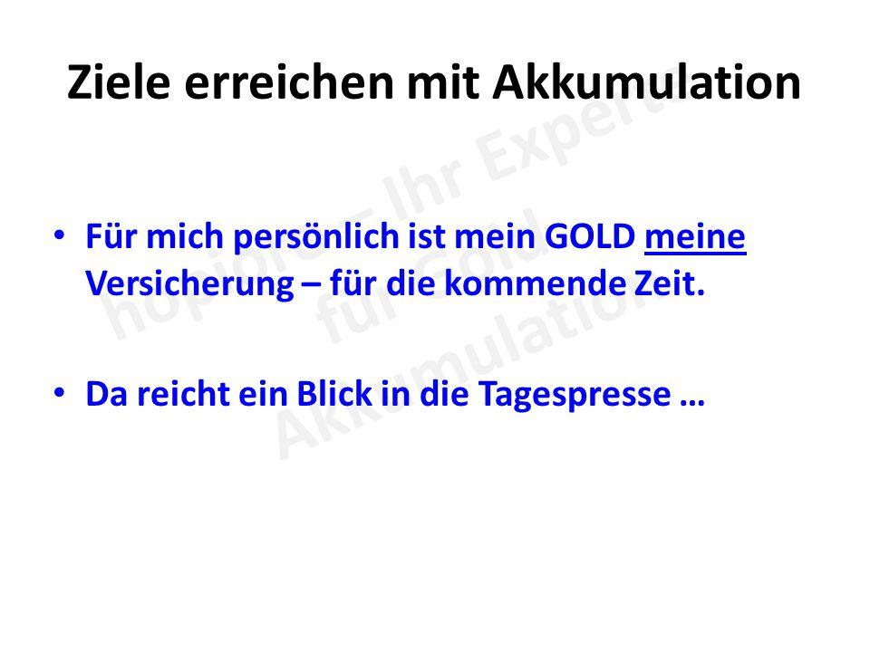 1 Kilo Gold im Monat Mit der notwendigen Disziplin und der Erkenntnis, dass das Wiedereinsetzen der gewonnenen Erträge auf Dauer sinnvoll ist, erreicht man mit der nachstehend aufgezeigten Logik Erträge von 20.000, 30.000 oder auch 40.000 Euro im Monat.