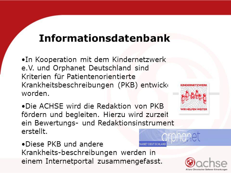 Informationsdatenbank In Kooperation mit dem Kindernetzwerk e.V.