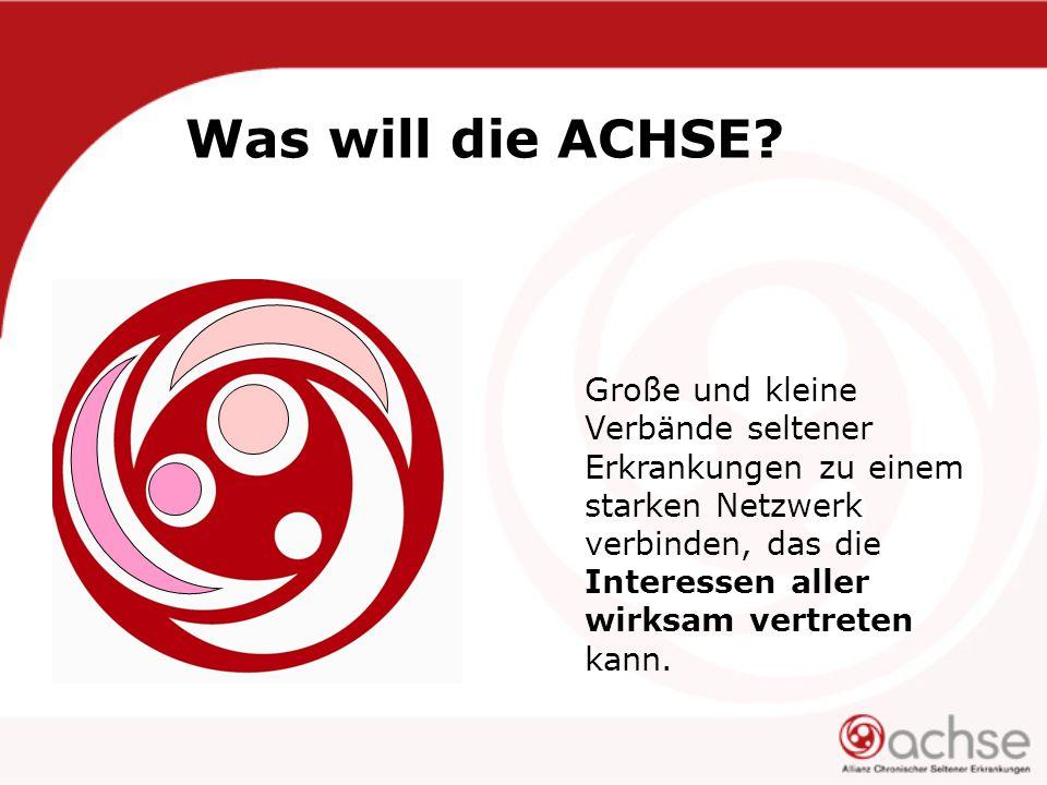 Was will die ACHSE.