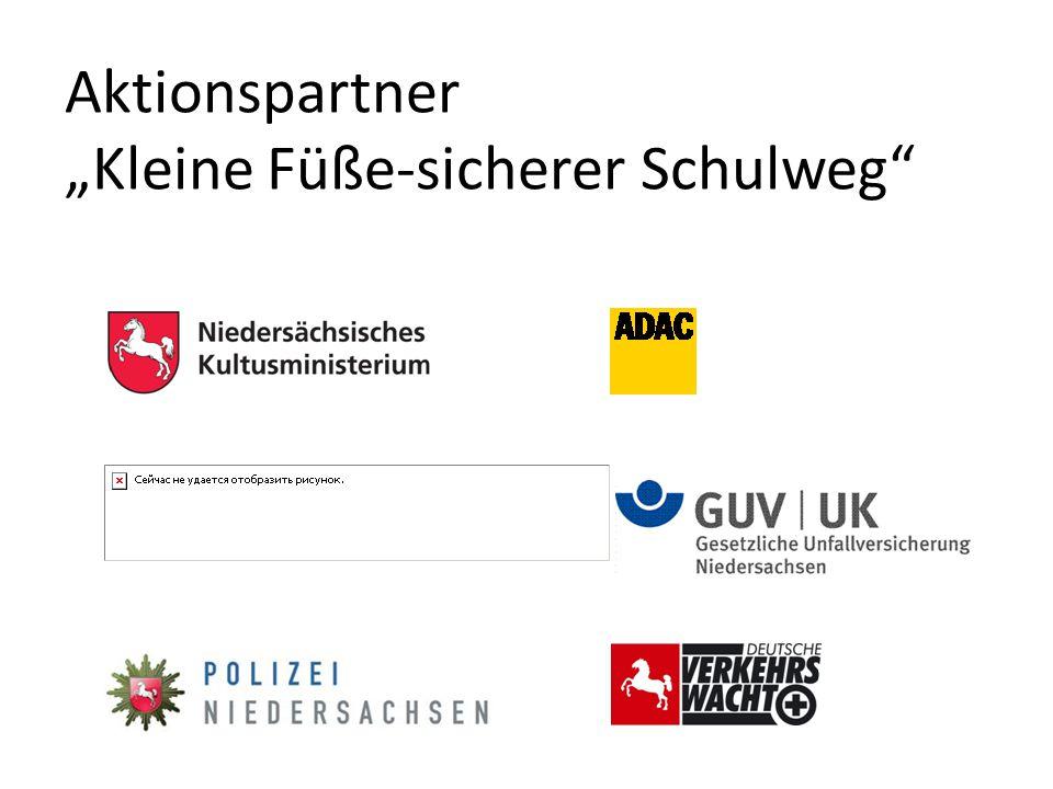 """Aktionspartner """"Kleine Füße-sicherer Schulweg"""""""