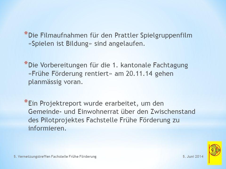 * Sprachkompetenz ohne Frühförderung 5. Juni 20145. Vernetzungstreffen Fachstelle Frühe Förderung