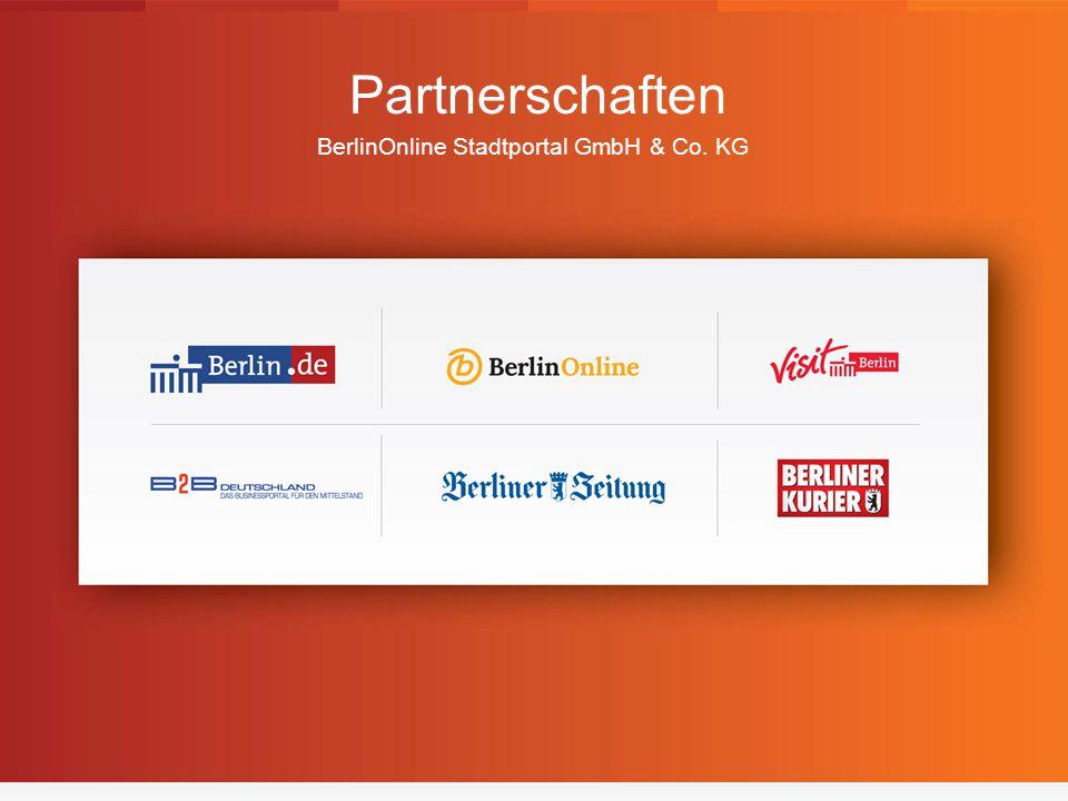 1 Partnerschaften BerlinOnline Stadtportal GmbH & Co. KG