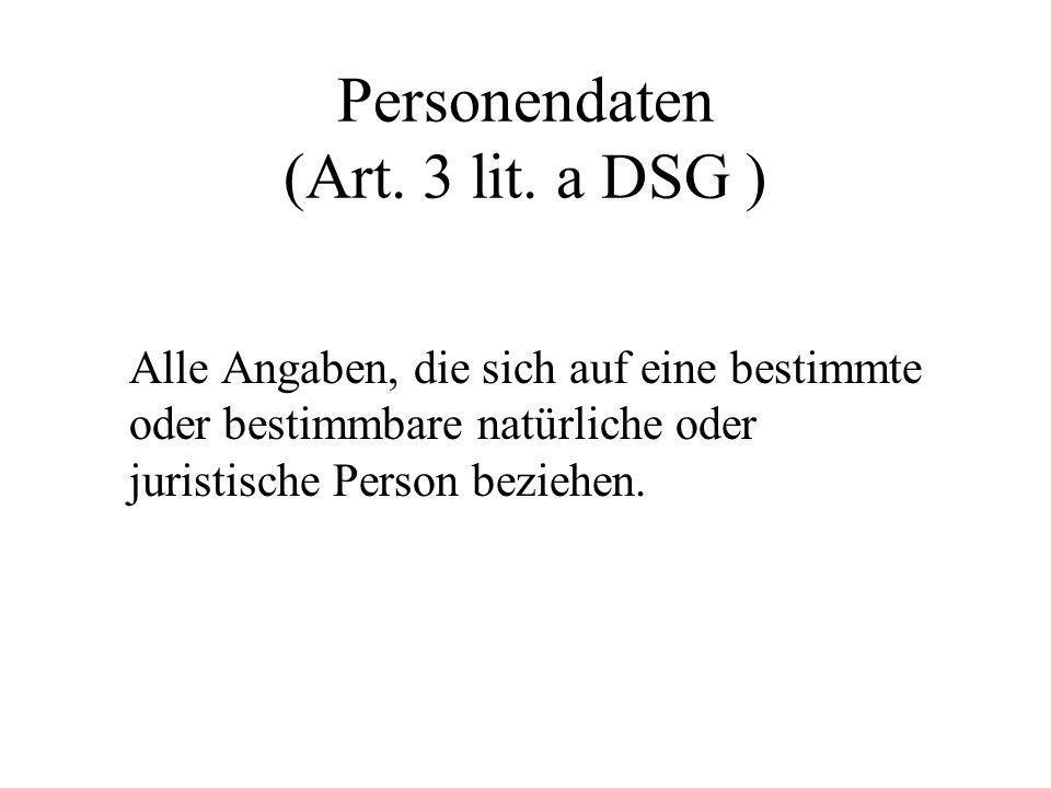 Personendaten (Art.3 lit.