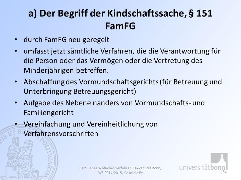 b) Regelungsgegenstände 1.Elterliche Sorge, §§ 1626 ff.
