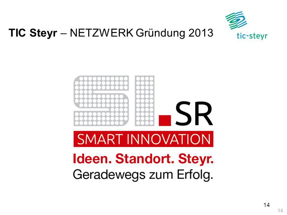 TIC Steyr – NETZWERK Gründung 2013 14