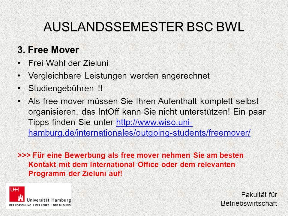 AUSLANDSSEMESTER BSC BWL 4.