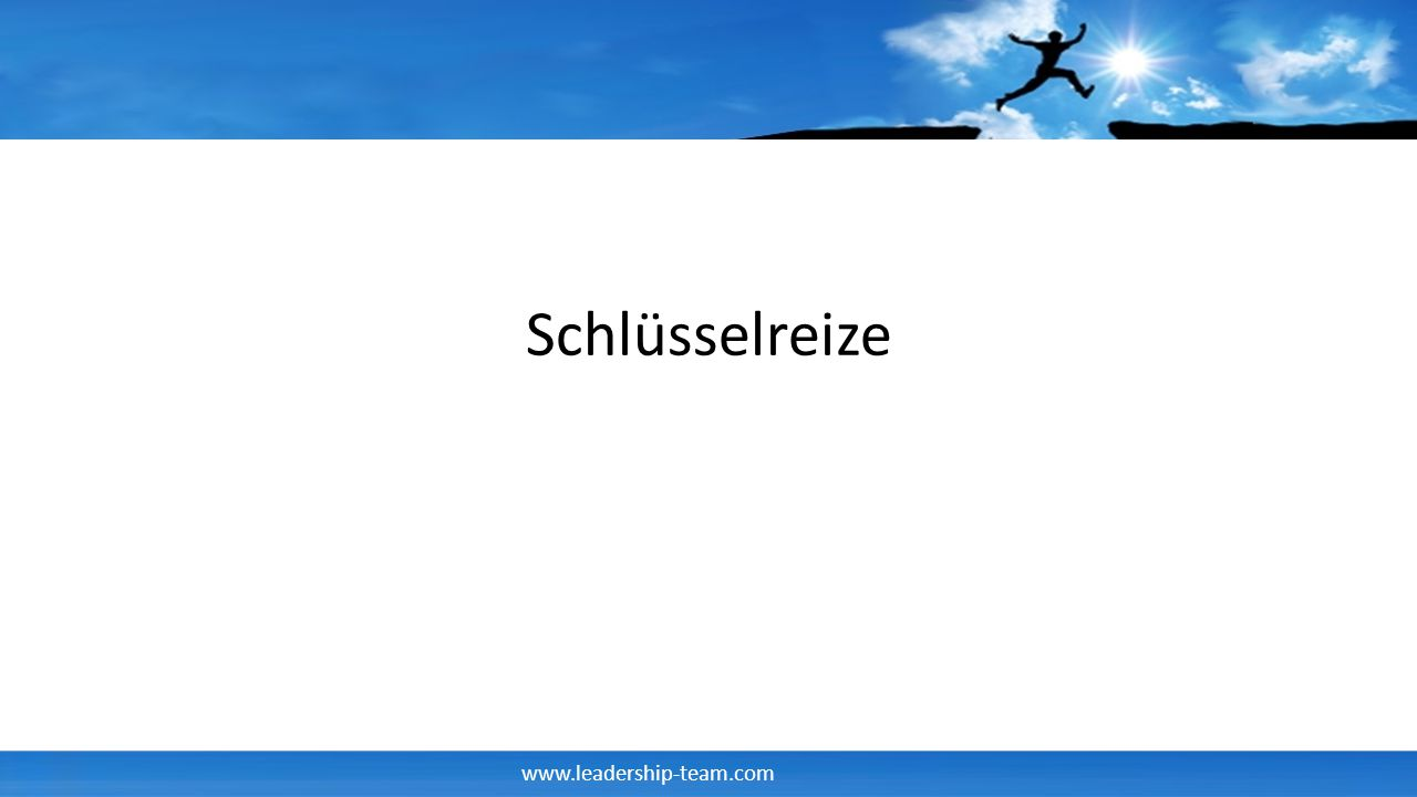 www.leadership-team.com Schlüsselreize