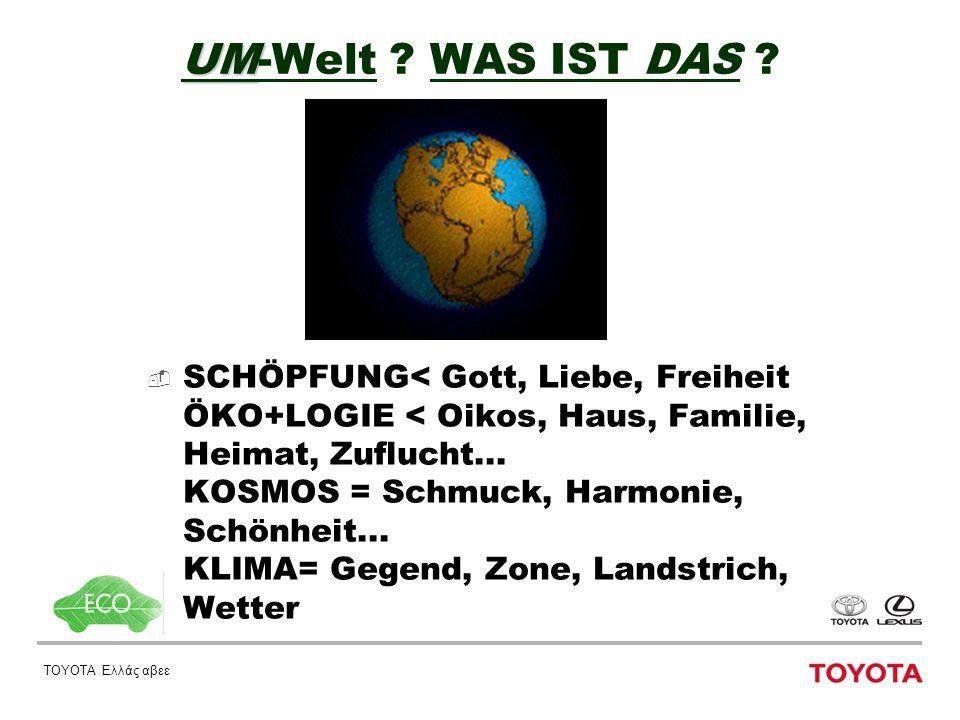ΤΟΥΟΤΑ Ελλάς αβεε UM UM-Welt . WAS IST DAS .