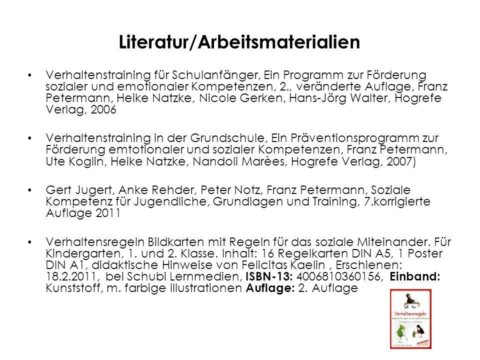 """Literatur/Arbeitsmaterialien Hildegard Kaufmann, Otto Marmet, Heinrich Werthmüller, Mariette Zurbriggen, TZT Impulse, """"Aussenseiter integrieren , 3."""