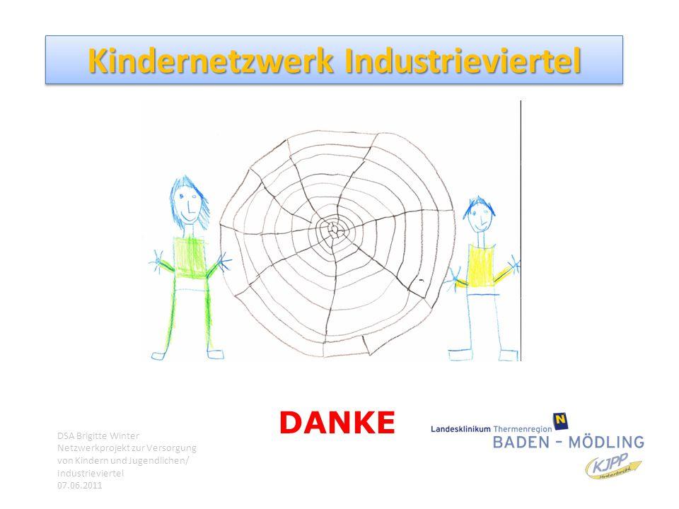Kindernetzwerk Industrieviertel Danke DANKE DSA Brigitte Winter Netzwerkprojekt zur Versorgung von Kindern und Jugendlichen/ Industrieviertel 07.06.20