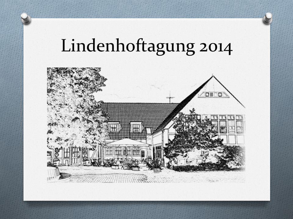 Lindenhoftagung 2014