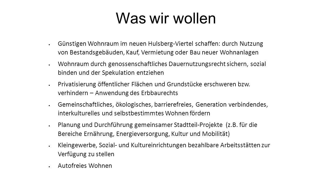 Beispielhafte Genossenschaftsprojekte München: Wagnis eG Berlin.