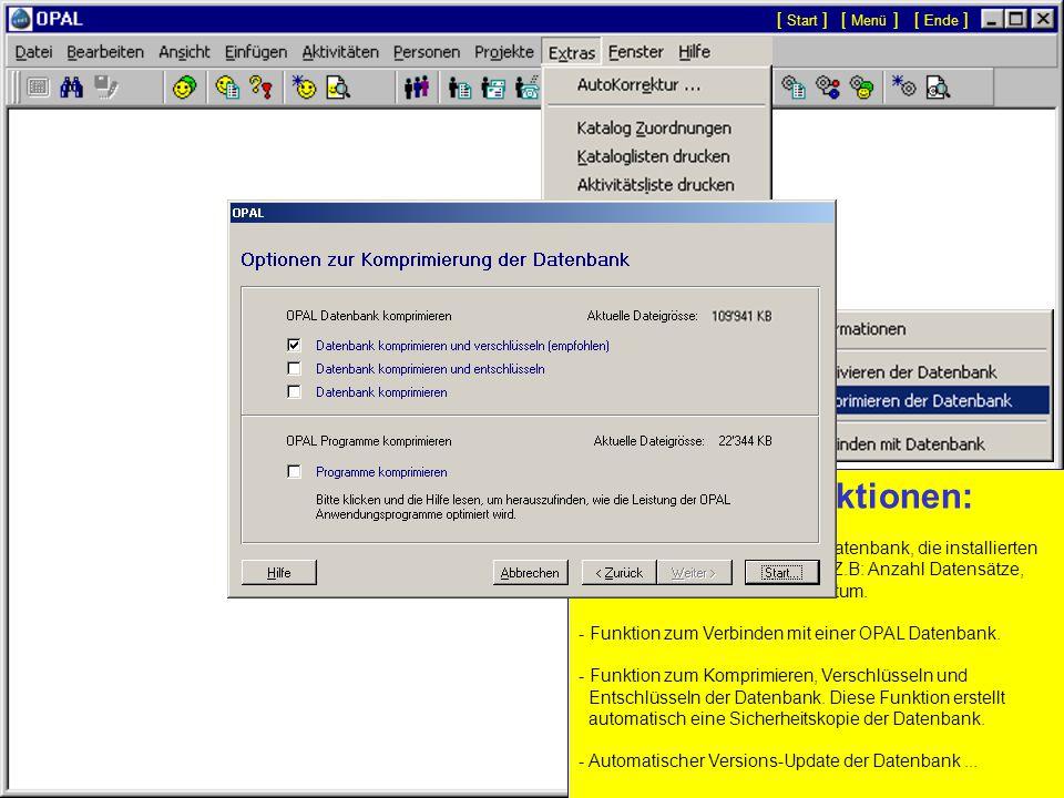 Adressen-Import: - Der Assistent zum Importieren von Personen, Adressen und Nummern ermöglicht bestehende Daten von beliebigen anderen Datenbanken oder Tabellen zu importieren.