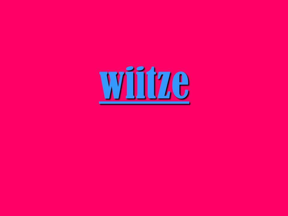 wiitze
