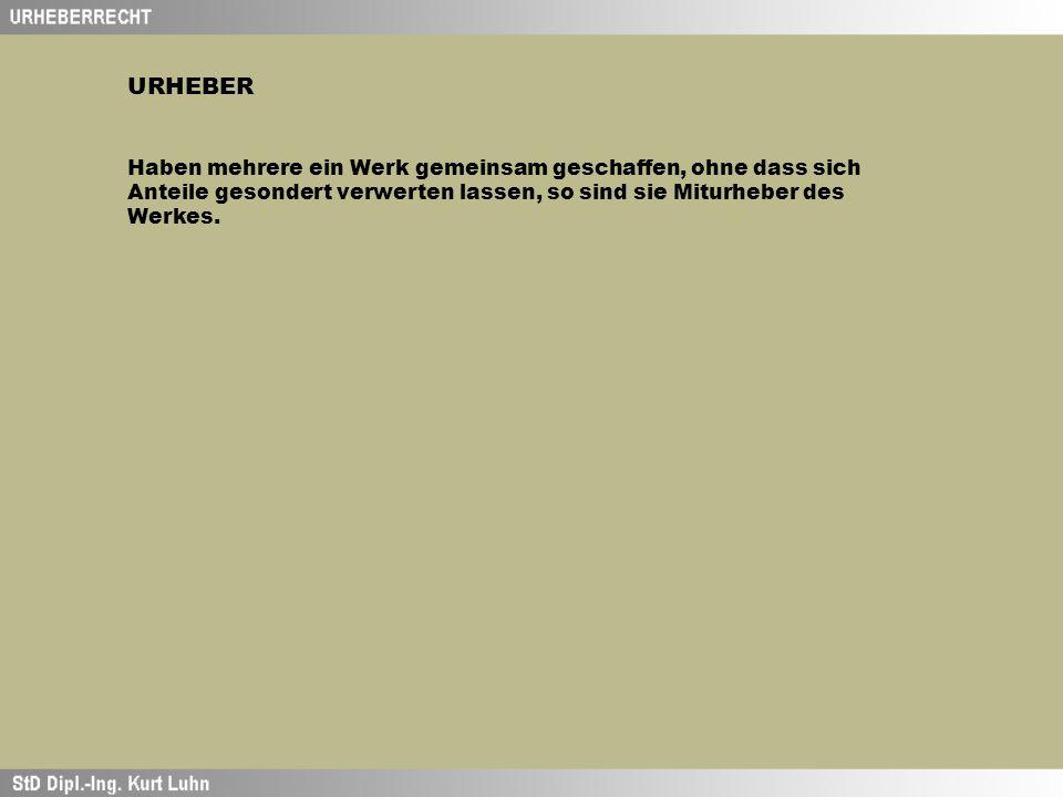 VERWERTUNG UNKÖRPERLICHE FORM Vortrag Aufführung Vorführung Sendung/Senden Wiedergabe von Bild und Ton