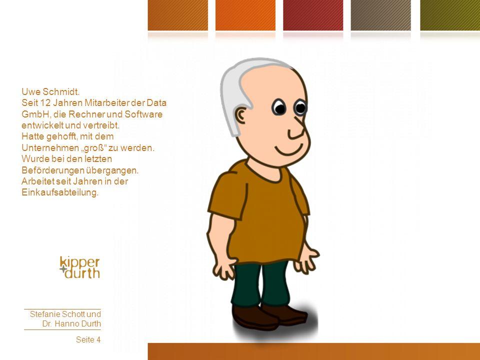 """Uwe Schmidt. Seit 12 Jahren Mitarbeiter der Data GmbH, die Rechner und Software entwickelt und vertreibt. Hatte gehofft, mit dem Unternehmen """"groß"""" zu"""