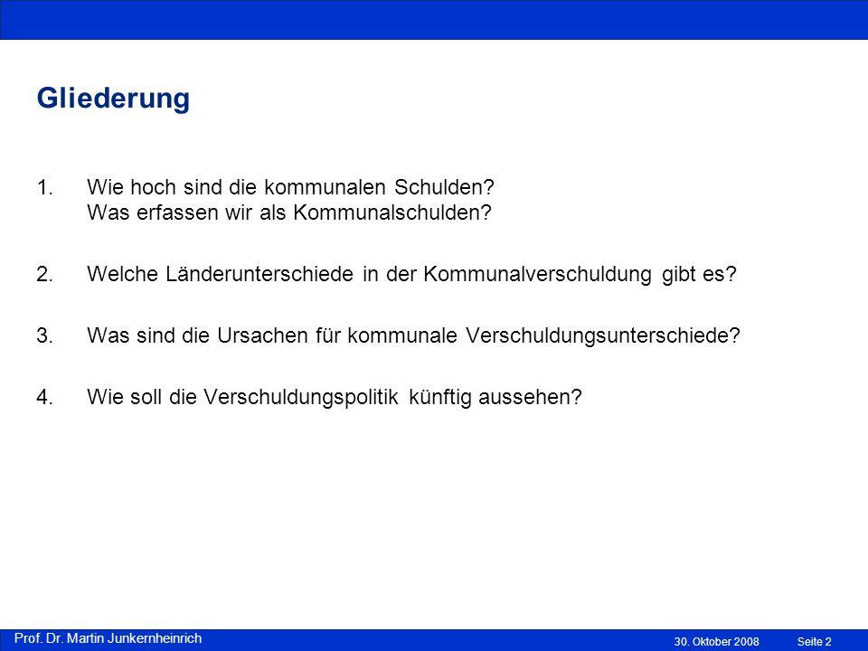 Prof.Dr. Martin Junkernheinrich 30.