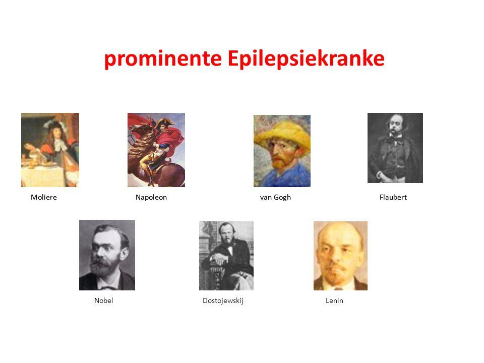 Moliere Napoleon van Gogh Flaubert Nobel Dostojewskij Lenin prominente Epilepsiekranke