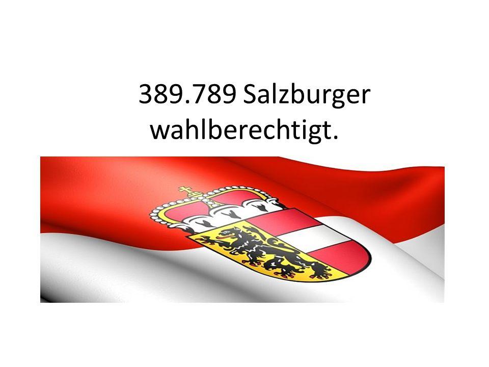 389.789 Salzburger wahlberechtigt.