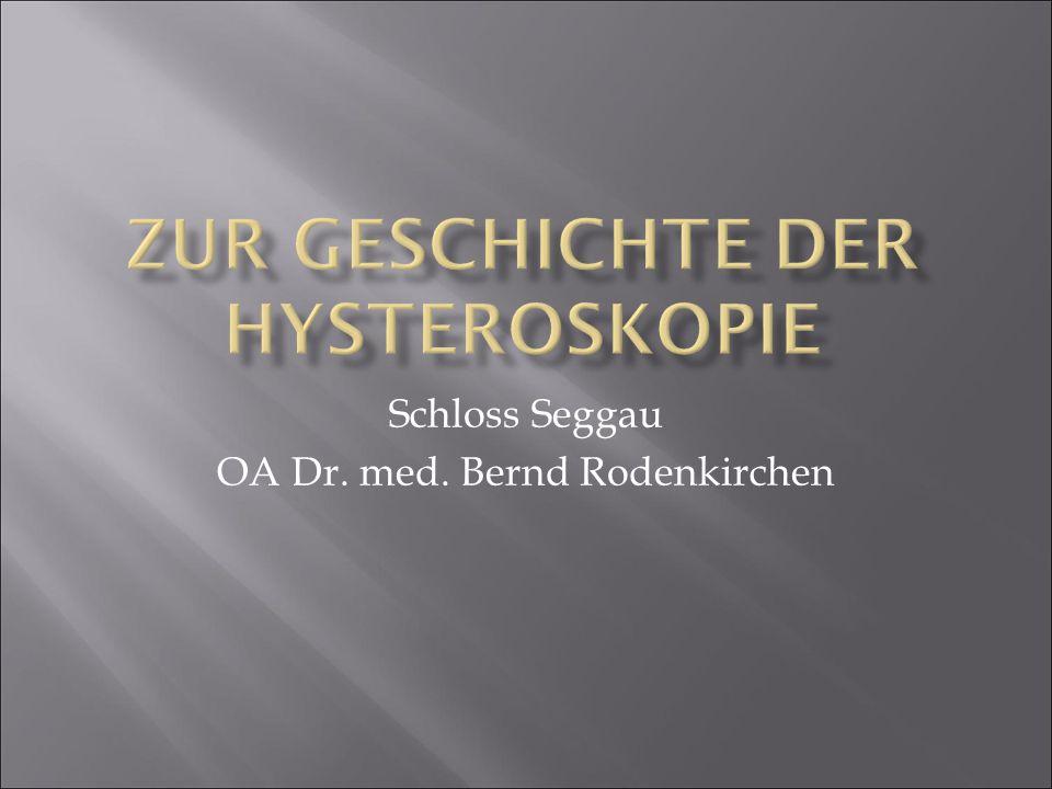 Schloss Seggau OA Dr. med. Bernd Rodenkirchen