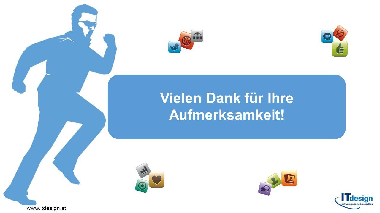 Vielen Dank für Ihre Aufmerksamkeit! www.itdesign.at