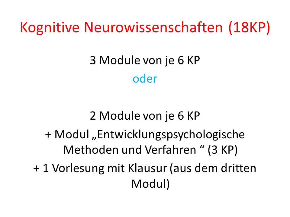 """Beratung und Intervention (6KP)  1 Modul von 6 KP oder  das Modul """"Sozialpsychologie (3 KP) + 1 Vorlesung mit Klausur aus einem anderen Modul oder  2 Vorlesungen mit Klausur aus zwei verschiedenen Modulen"""