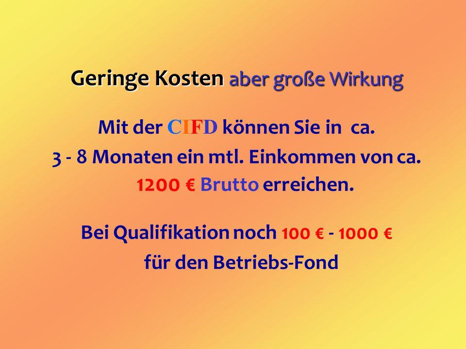 CIFD LTD.& CO. KG Vertriebs- u. Verwaltungsgesellschaft Verwaltung: Fa.