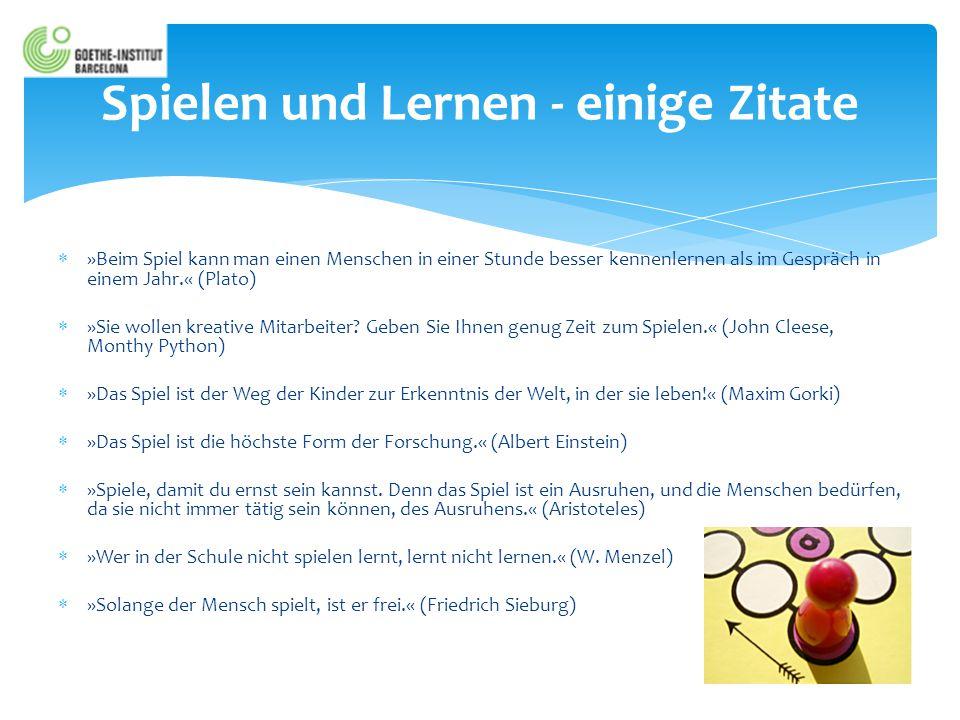  3 Programme zur Erstellung purer Sprachlernspiele QUIZLET: Von der Vokabelliste zum Spiel  www.quizlet.com www.quizlet.com  Erstellen von einfachen Quizfragen  Spielen der Quizfragen über eine Auswahl von Spielvorlagen  Erstellen von Klassen, Einladen von Schülern  Vergabe von Preisen, Orden etc.