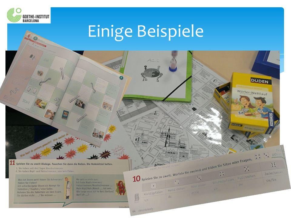 SPRACHLERNSPIELE 1.Pure Sprachlernspiele2. Kreative Spiele 3.
