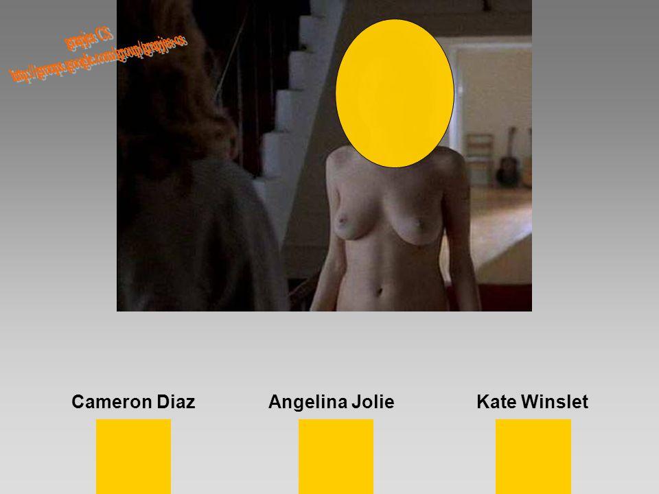 Cameron DiazAngelina JolieKate Winslet