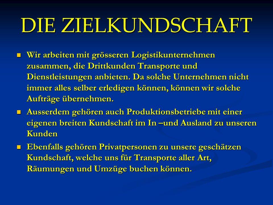 TRANSPORT-KAPAZITÄT LIEFERWAGEN 2 Europaletten 180x140x130 (Gesamt) 750KG
