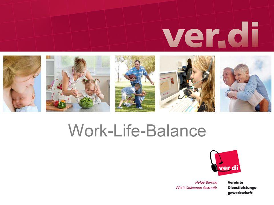 Helge Biering FB13 Callcenter Sekretär Work-Life-Balance
