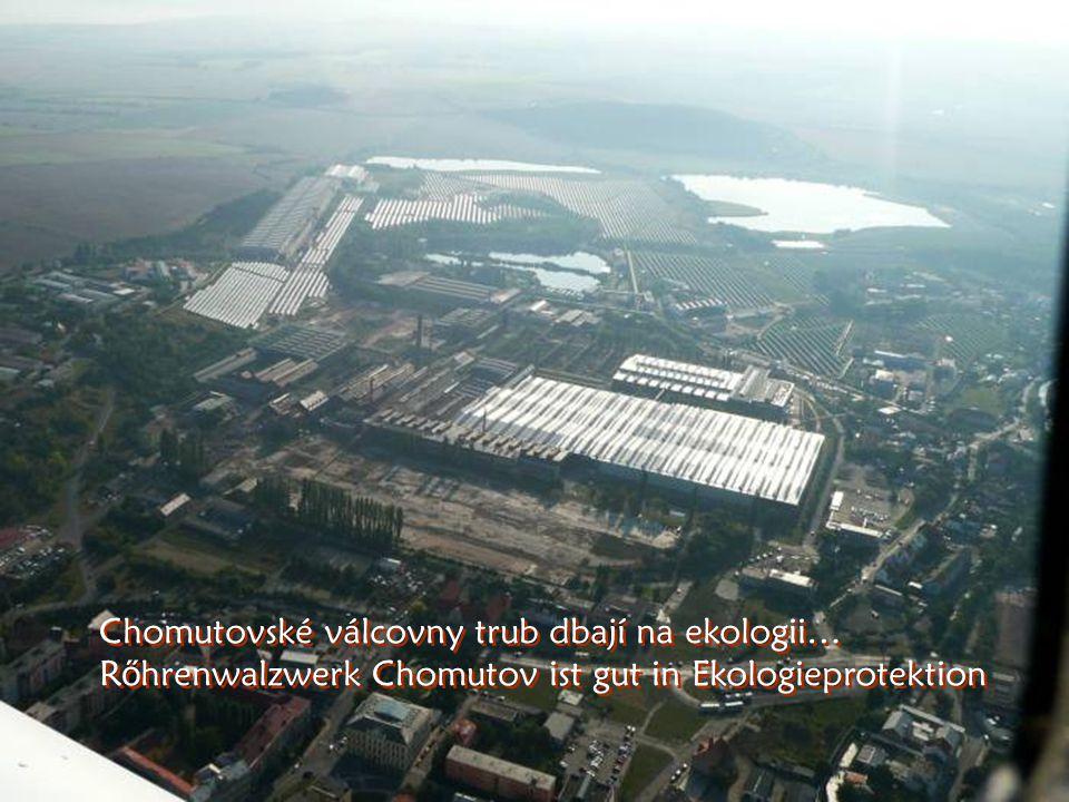 Jsme nad Chomutovem – Unter uns ist die Stadt Chomutov