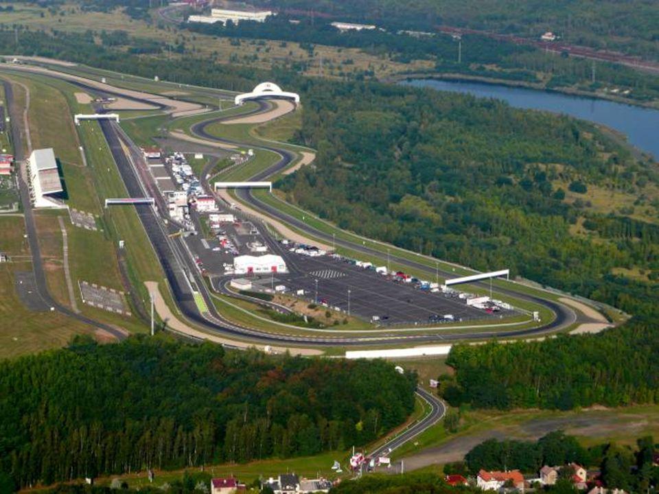 Mostecký autodrom Teilweise anstelle der Groß ab bau ist auch ein Autodrom von Most entstanden