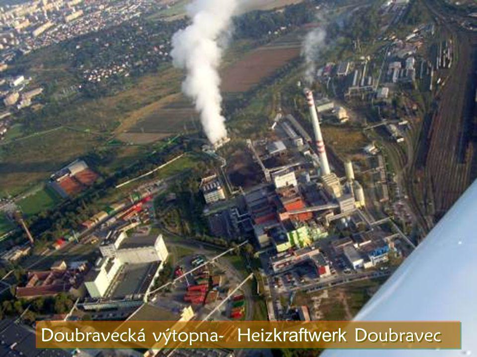 Doubravecká výtopna- Heiz kraftwerk Doubravec