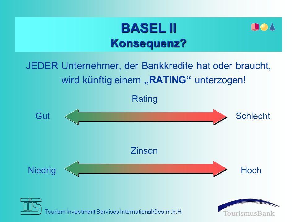 Tourism Investment Services International Ges.m.b.H BASEL II Konsequenz.