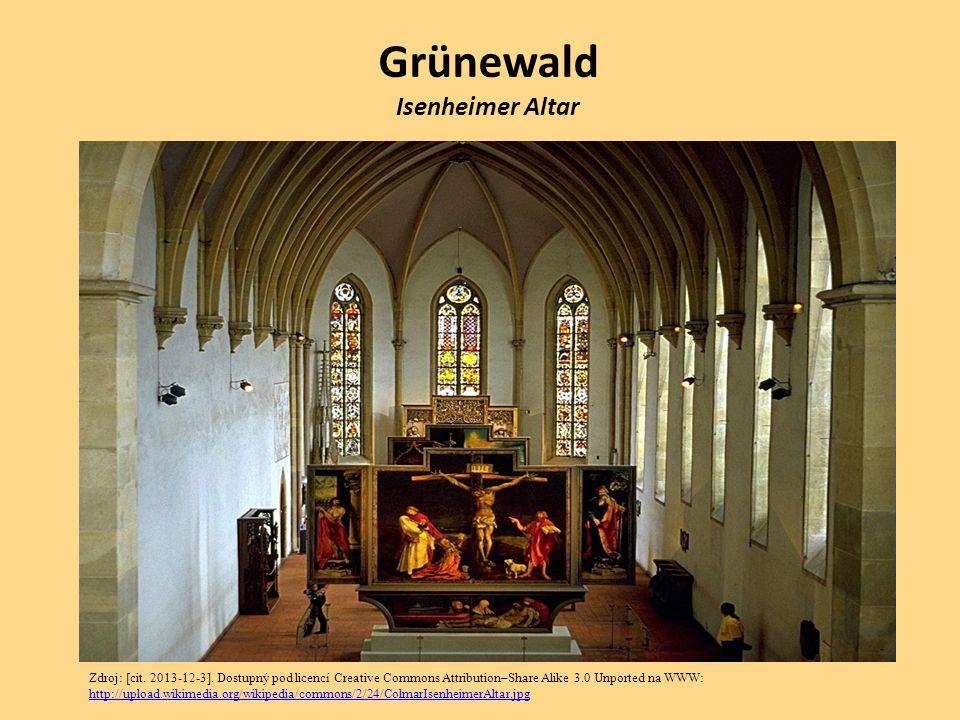 Grünewald Isenheimer Altar Zdroj: [cit. 2013-12-3]. Dostupný pod licencí Creative Commons Attribution–Share Alike 3.0 Unported na WWW: http://upload.w